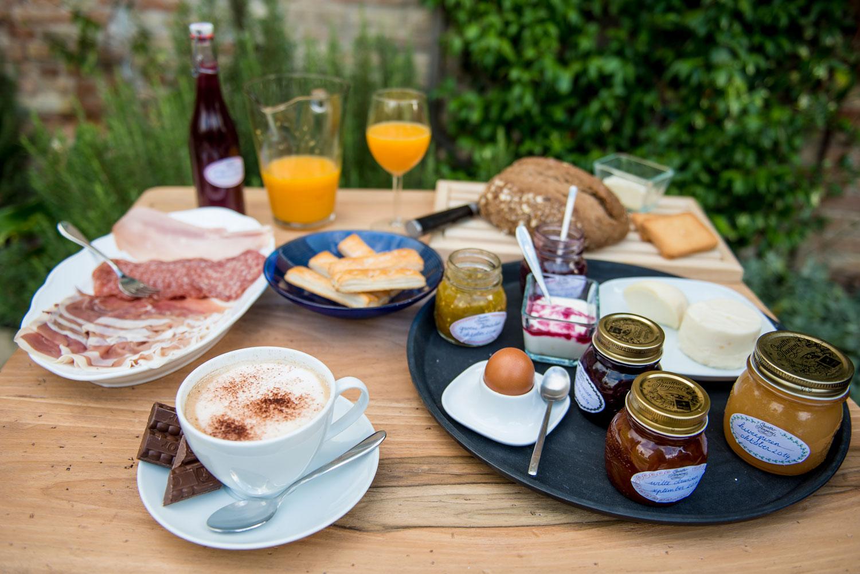 Capotorto-ontbijtsfeer